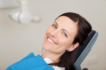 Woman in dental chair | Dentist Fort Collins CO